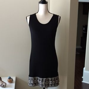 Monoreno Black knit dress